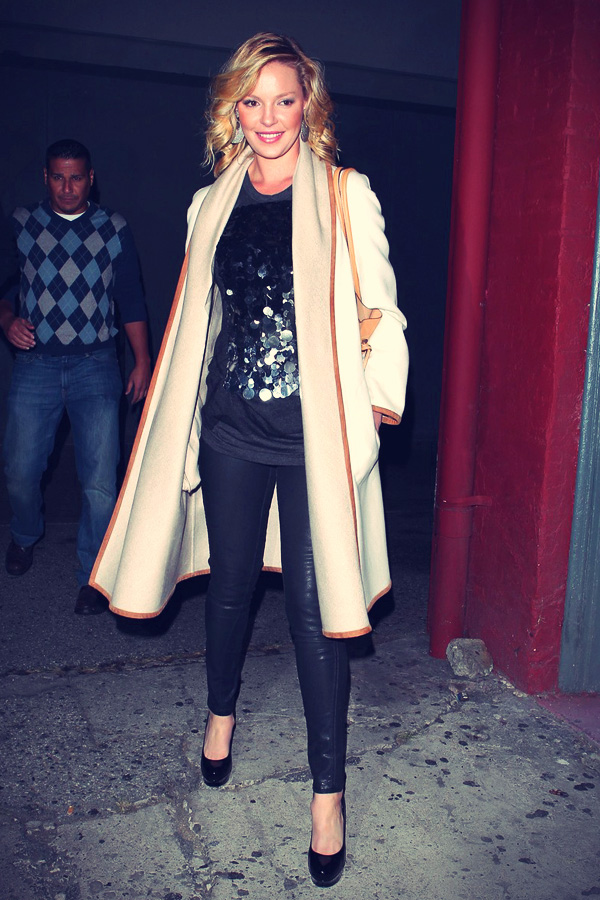 Katherine Heigl attends Josh Kelley concert