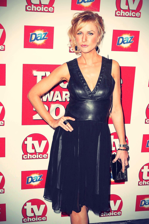 Katherine Kelly attends TV Choice Awards