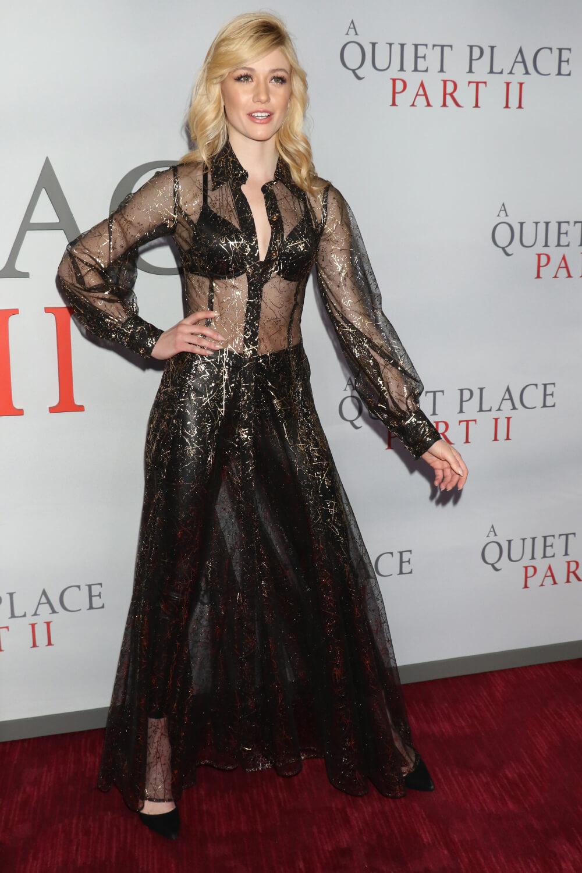Katherine McNamara at The A Quiet Place Part 2 premiere