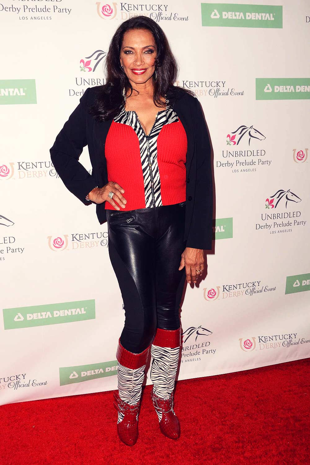 Kathleen Bradley attends 7th Annual Unbridled Eve Derby Prelude Party