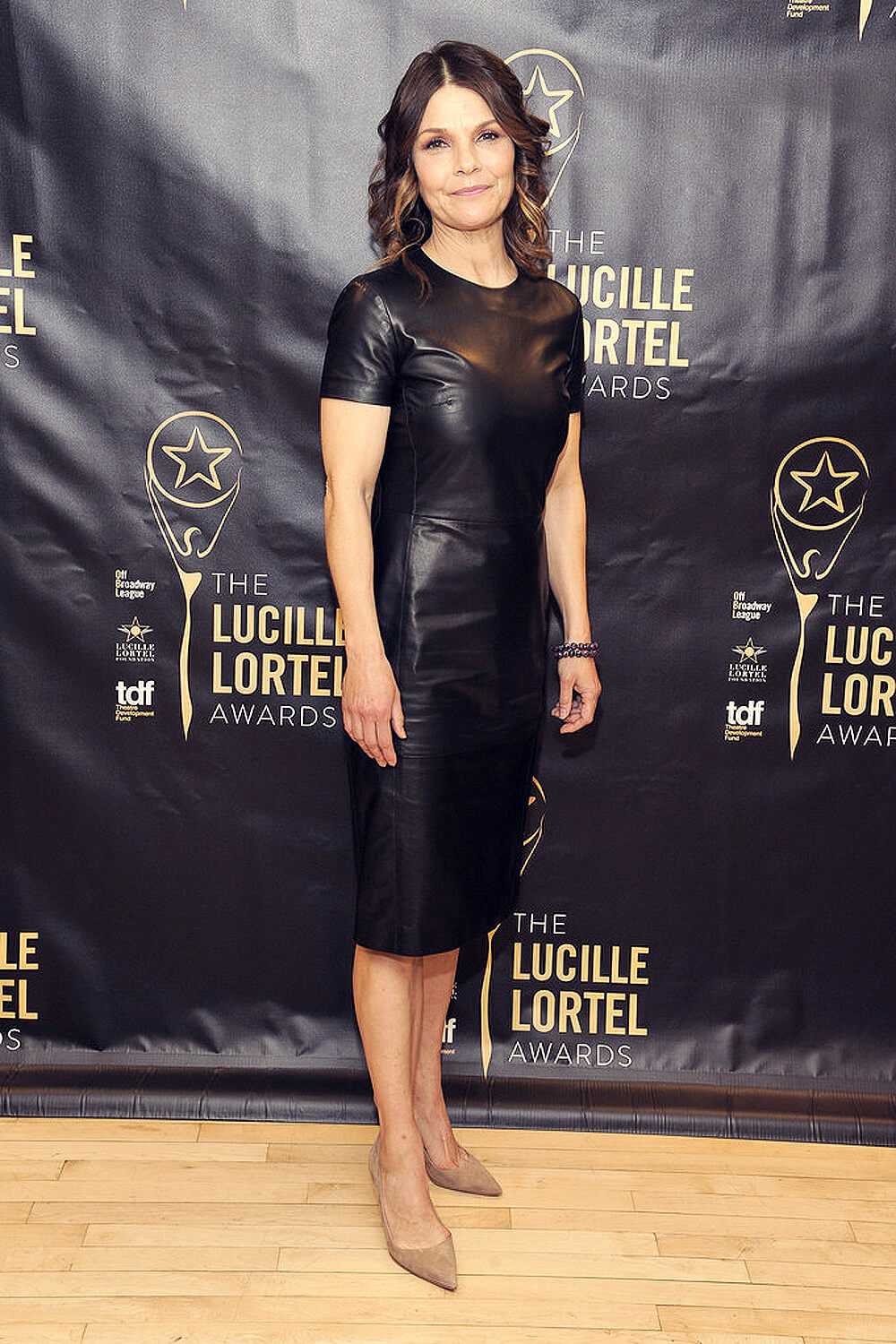 Kathryn Erbe at the press room for the 31st annual Lucille Lortel Awards