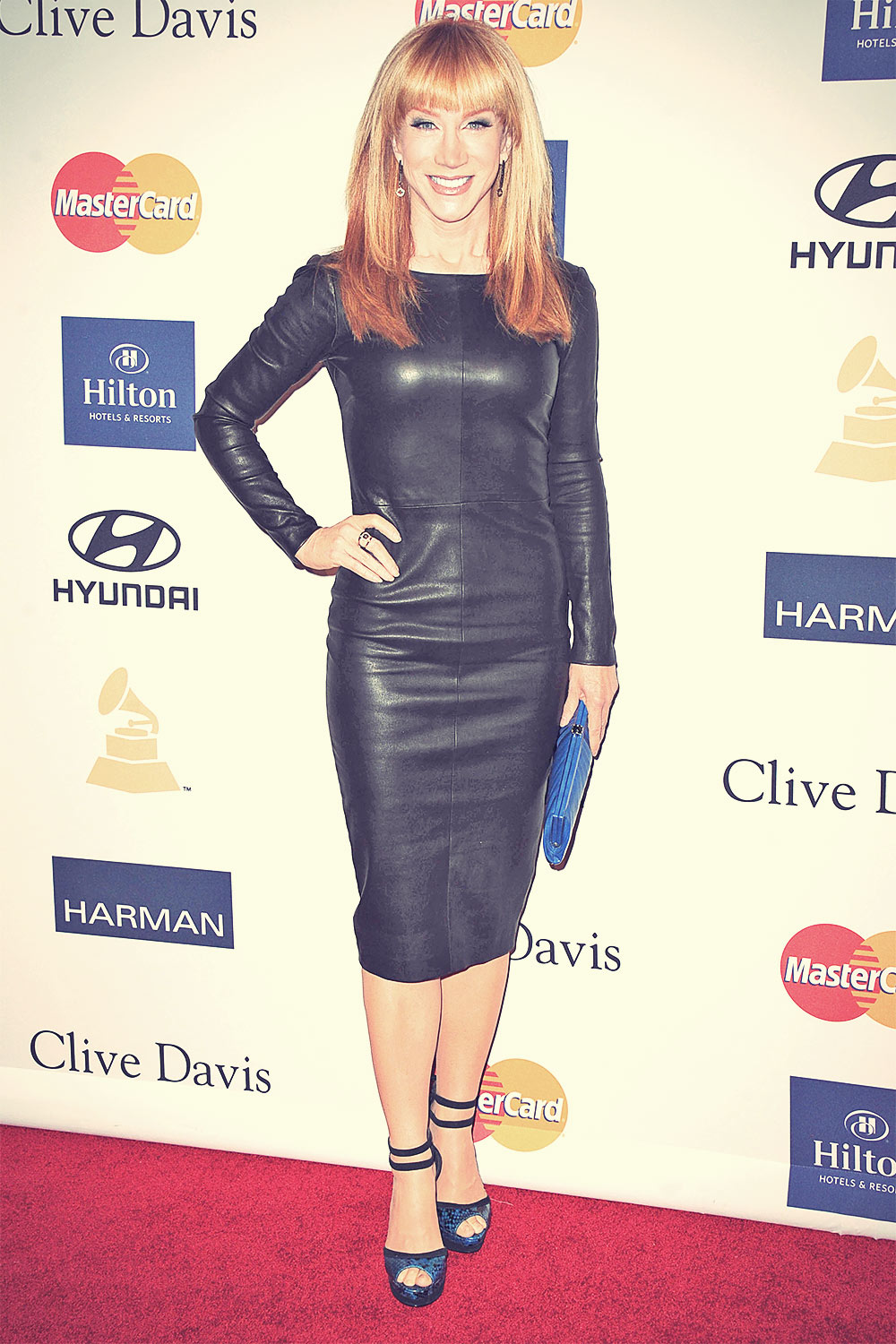 Kathy Griffin attends The 2013 Clive Davis Pre Grammy Party