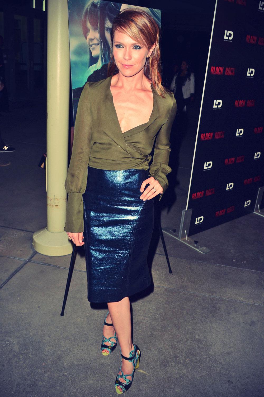 Katie Aselton attends Black Rock screening