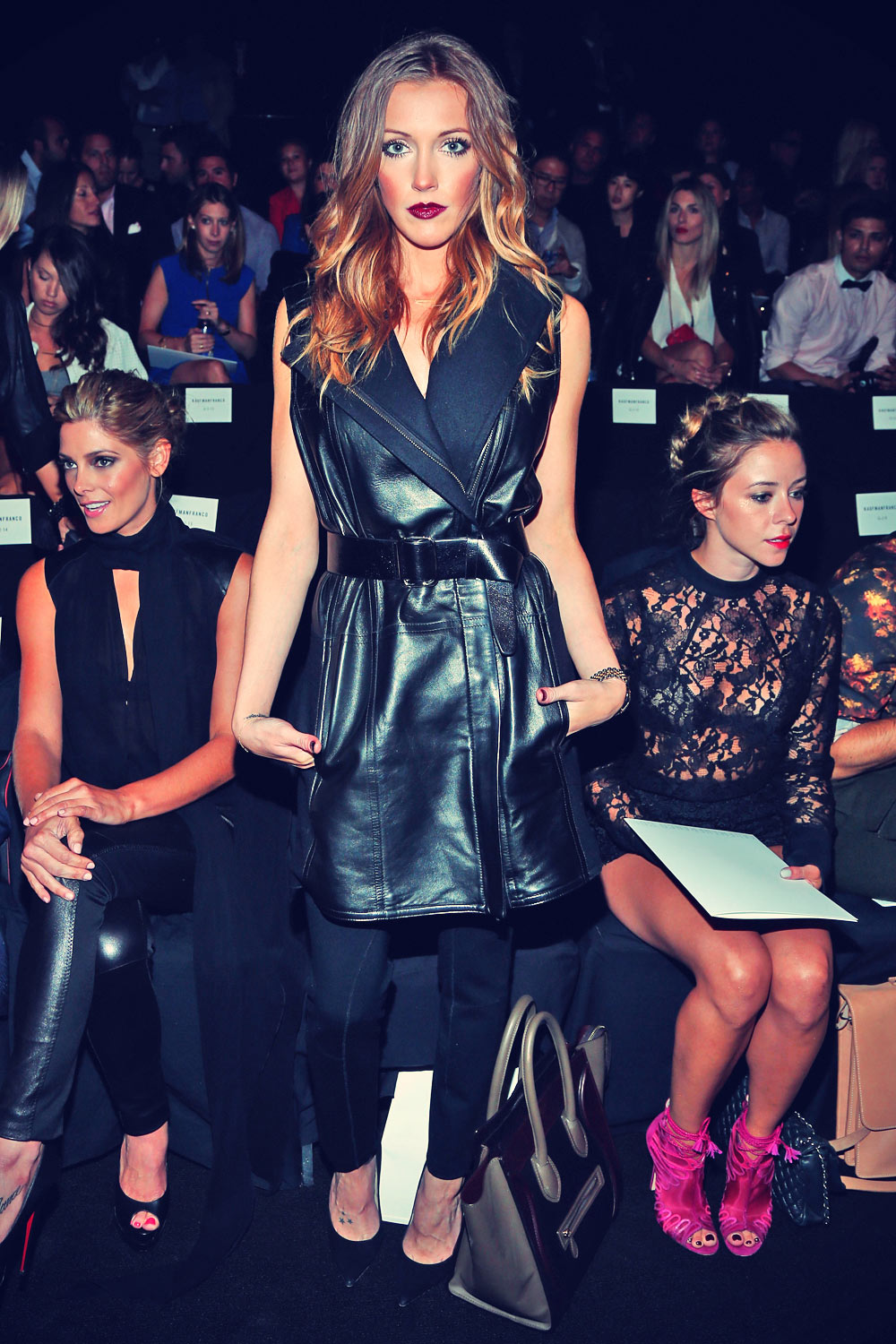 Katie Cassidy attends Kaufmanfranco Spring 2014 fashion show