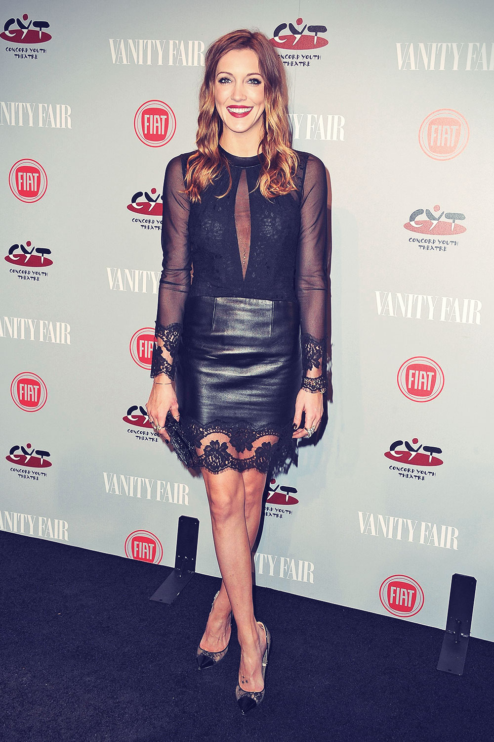 Katie Cassidy attends Vanity Fair & FIAT Young Hollywood event