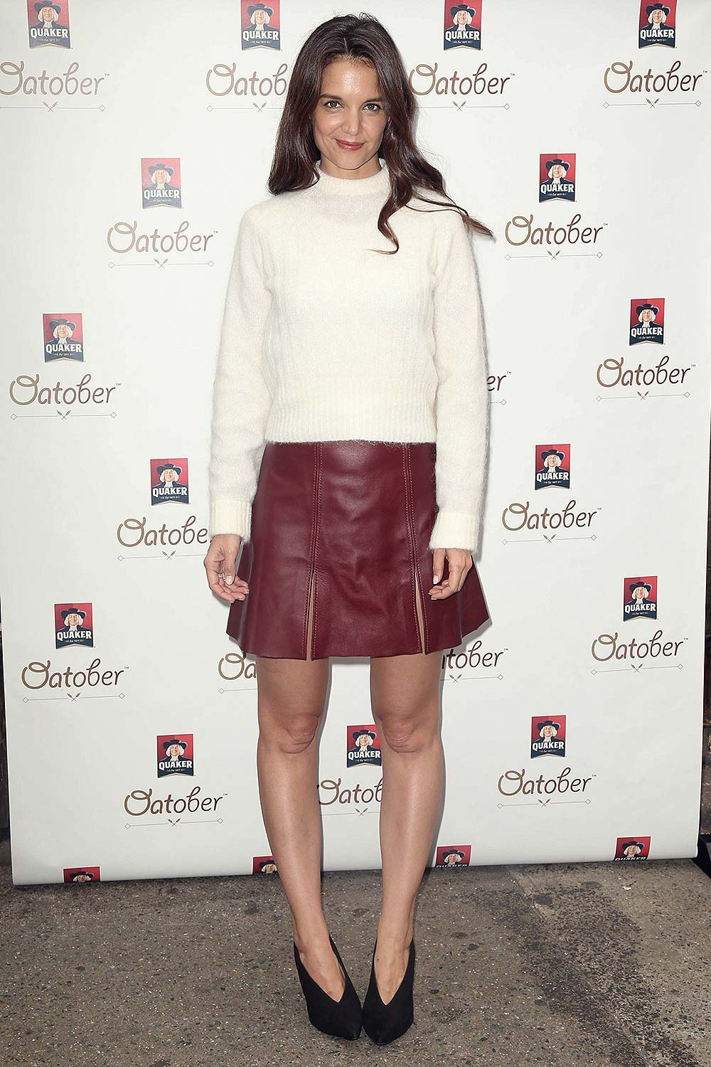 Katie Holmes at Quaker Oats Oatober Launch