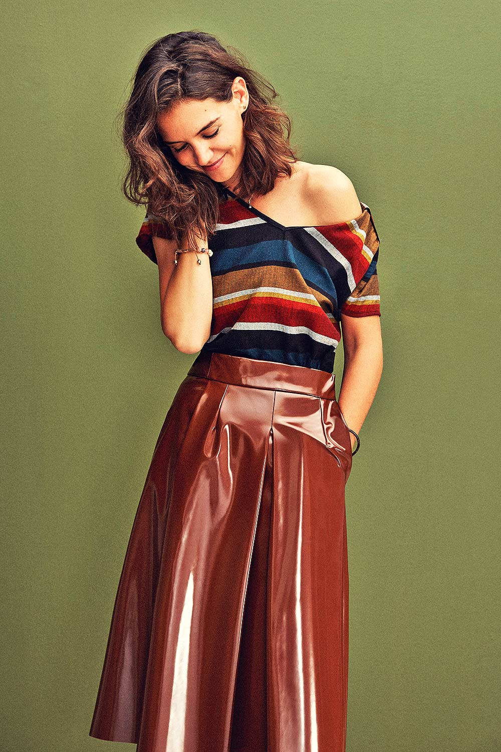 Katie Holmes photoshoot for Refinery29 by Olivia Malone