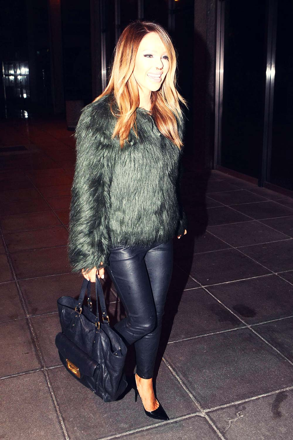 Katie Piper arrives at the RTE TV Studios
