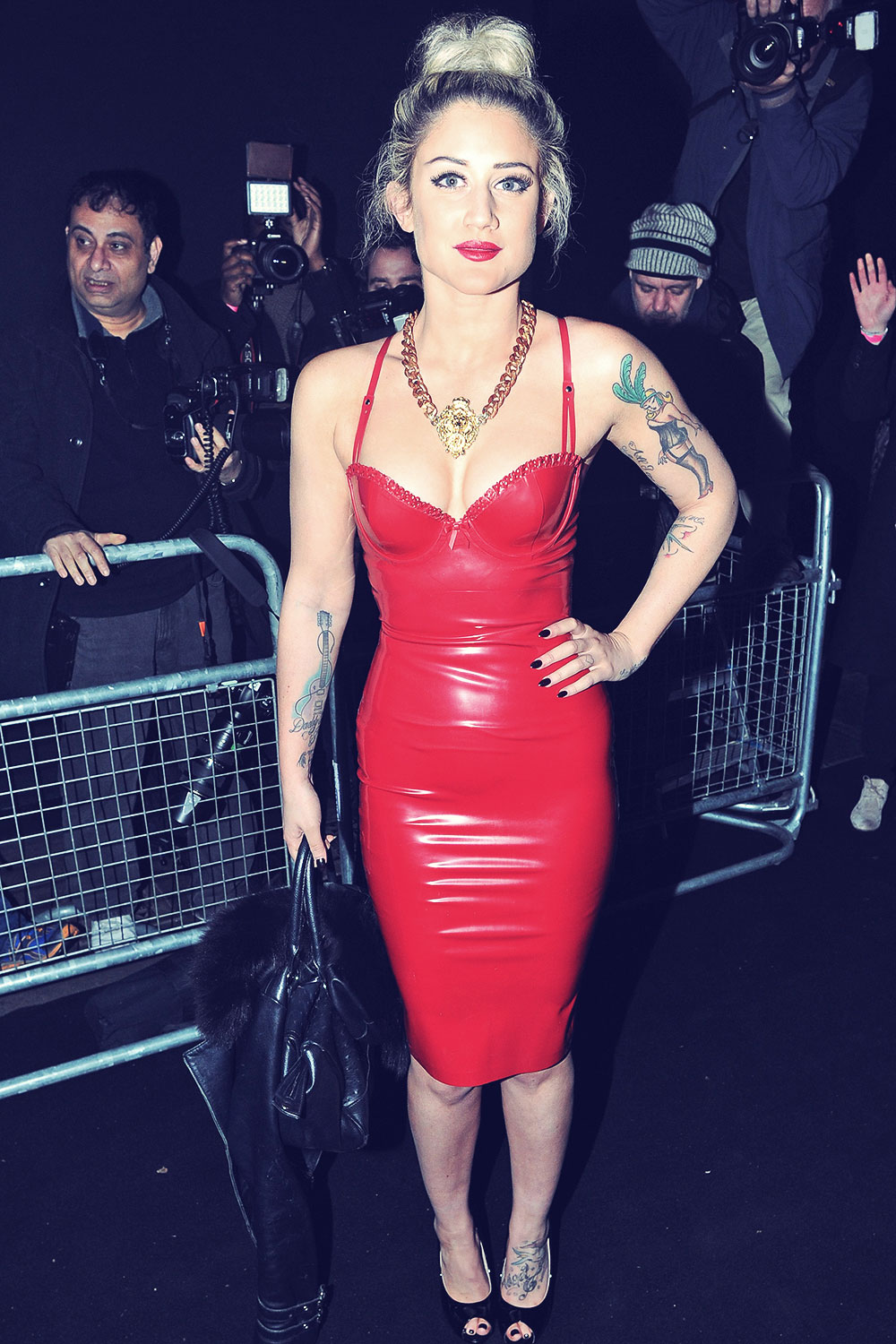 Katie Waissel attends Brits Universal After Party