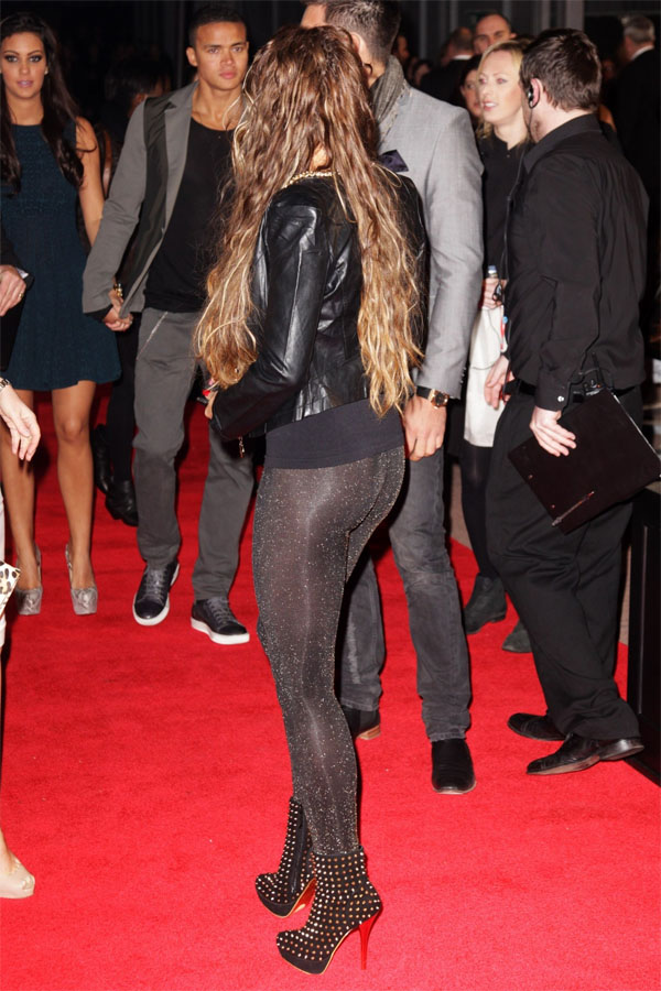 Katie Price attends The Hunger Games European Premiere