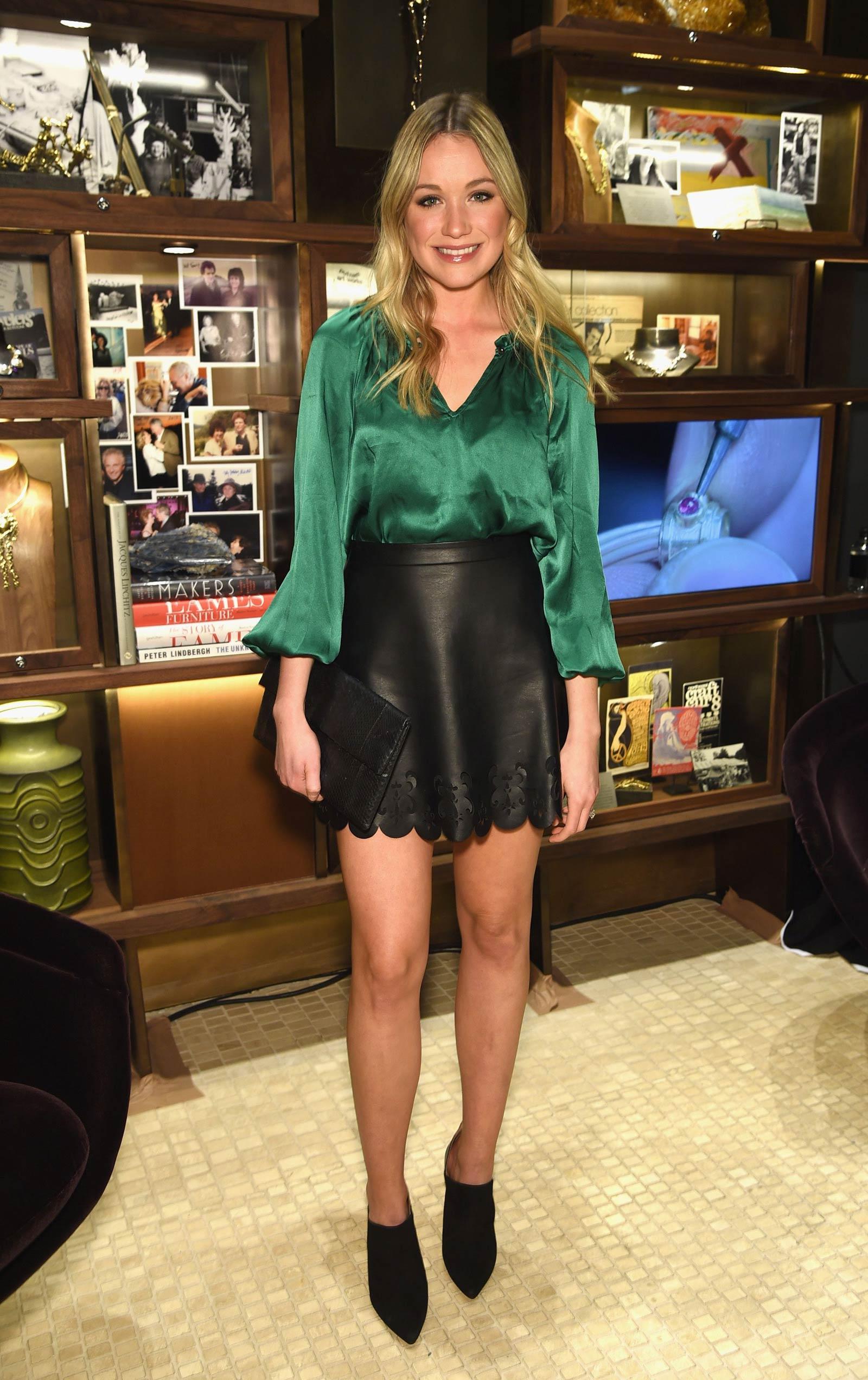Katrina Bowden attends David Yurman Soho Boutique Grand Opening
