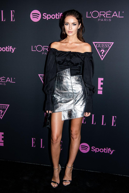 Katrina Kruglova attends Elle Women in Music