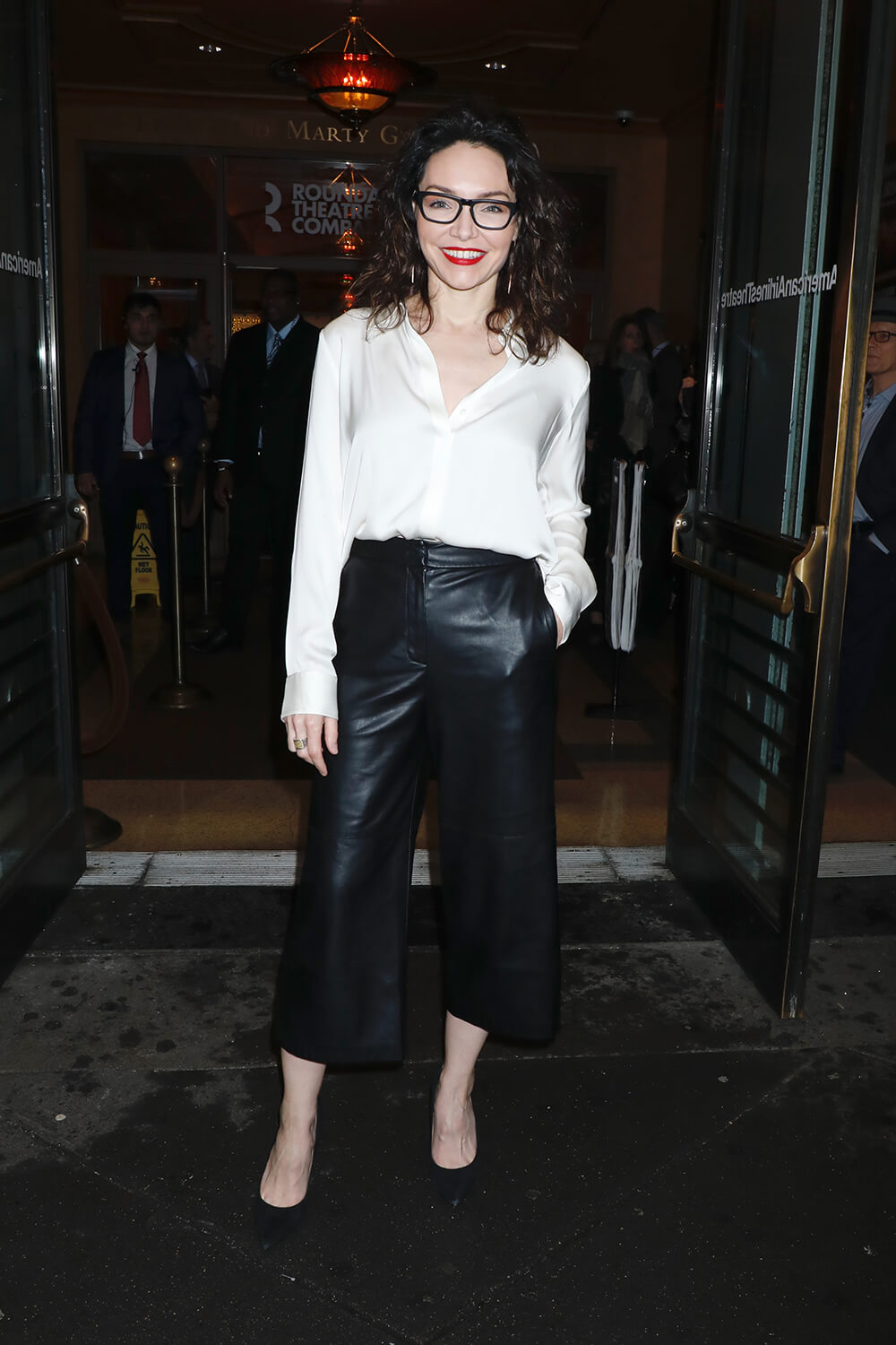 Katrina Lenk attends All My Sons play Broadway opening night, New York 22.04.2019