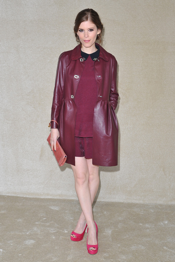 Katy Mara at Miu Miu Fashion Show