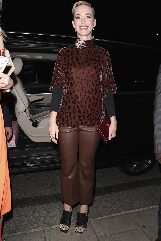 Katy Perry at China Tang restaurant