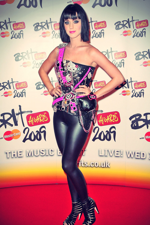 Katy Perry at the 2009 Brit Awards