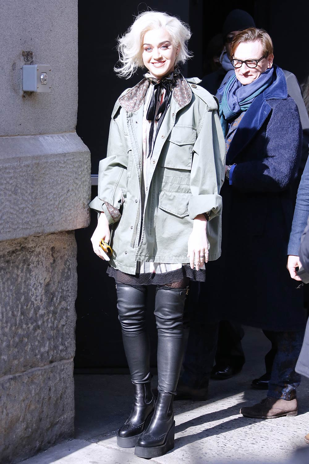 Katy Perry attends Marc Jacobs Fashion Show