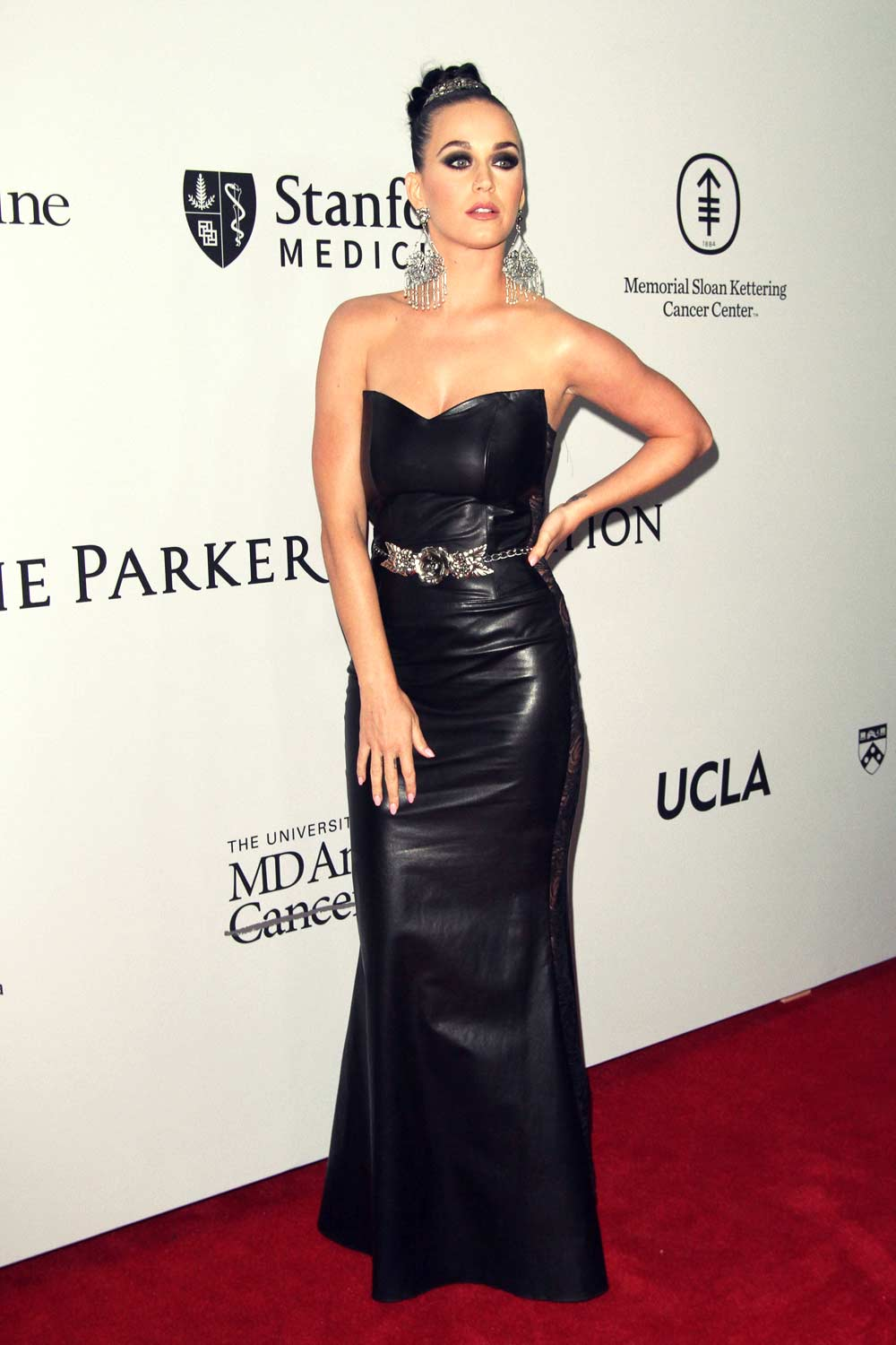 Katy Perry Attends The Parker Institute For Cancer