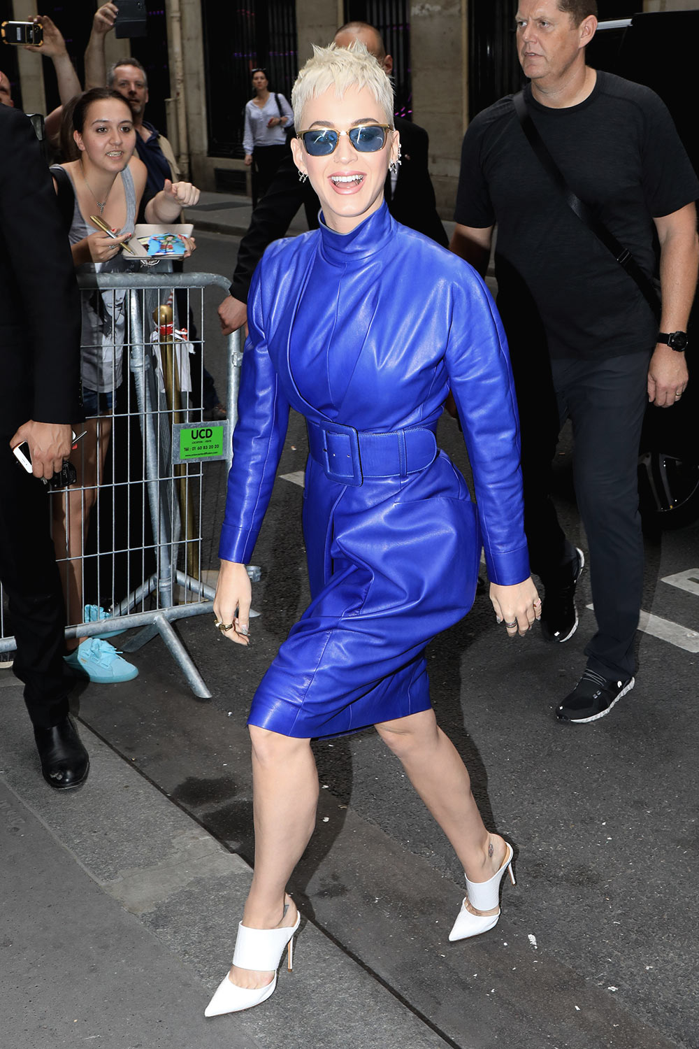 Katy Perry out & about in Paris