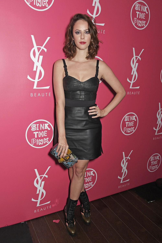 Kaya Scodelario YSL Beauty Club Party