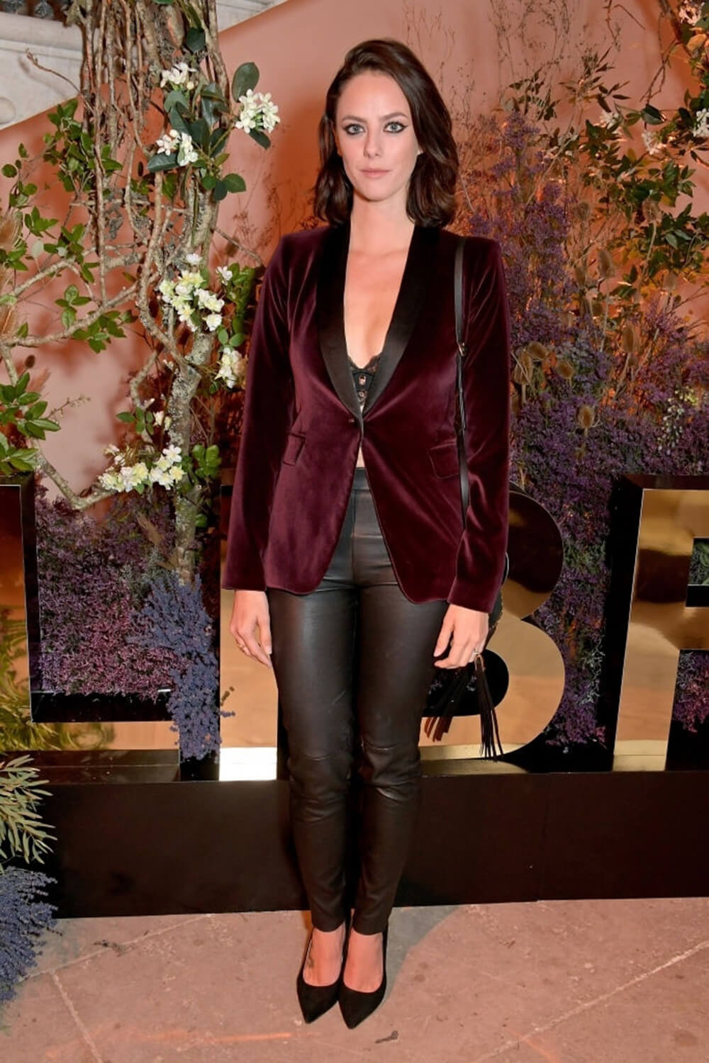 Kaya Scodelario attends YSL New Fragrance Libre Launch Party