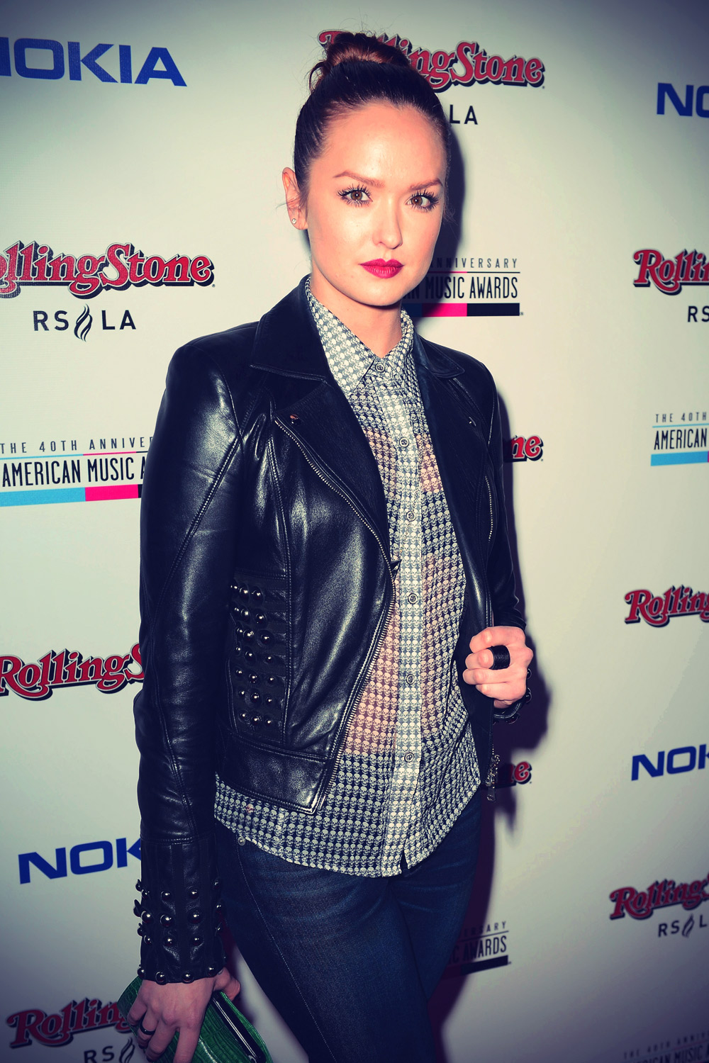 Kaylee DeFer attends the Rolling Stone after party for the 2012 AMA