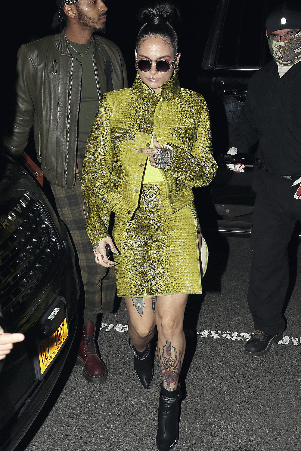 Kehlani Parrish attends Cipriani Downtown