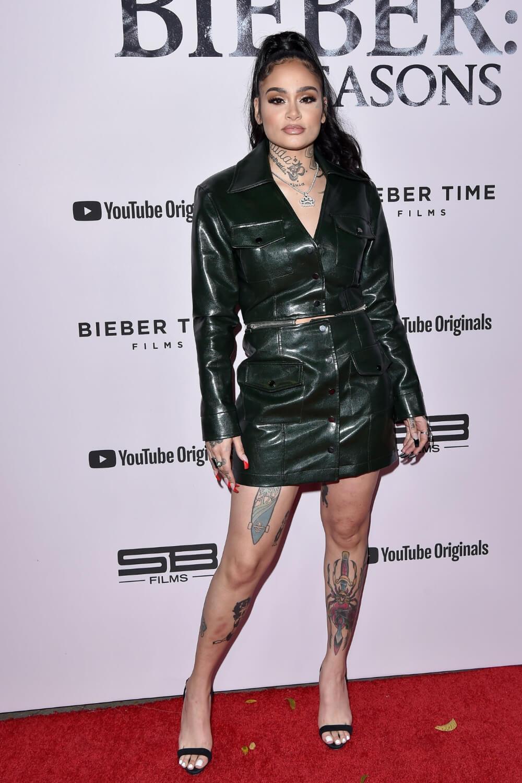 Kehlani attends YouTube Originals' 'Justin Bieber: Seasons'