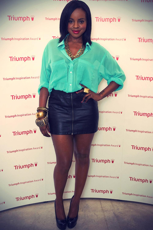 Keisha Buchanan at Triumph Inspiration Awards