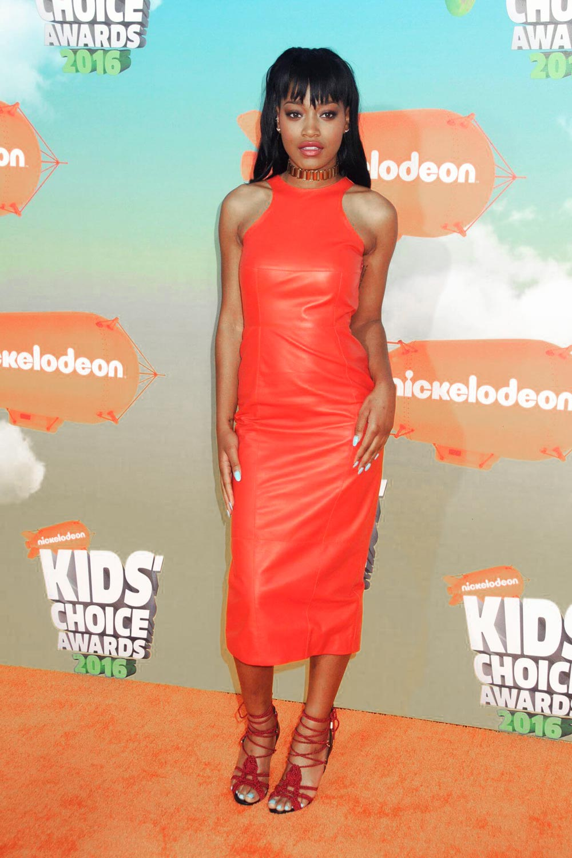 Keke Palmer attends 2016 Nickelodeon Kids Choice Awards