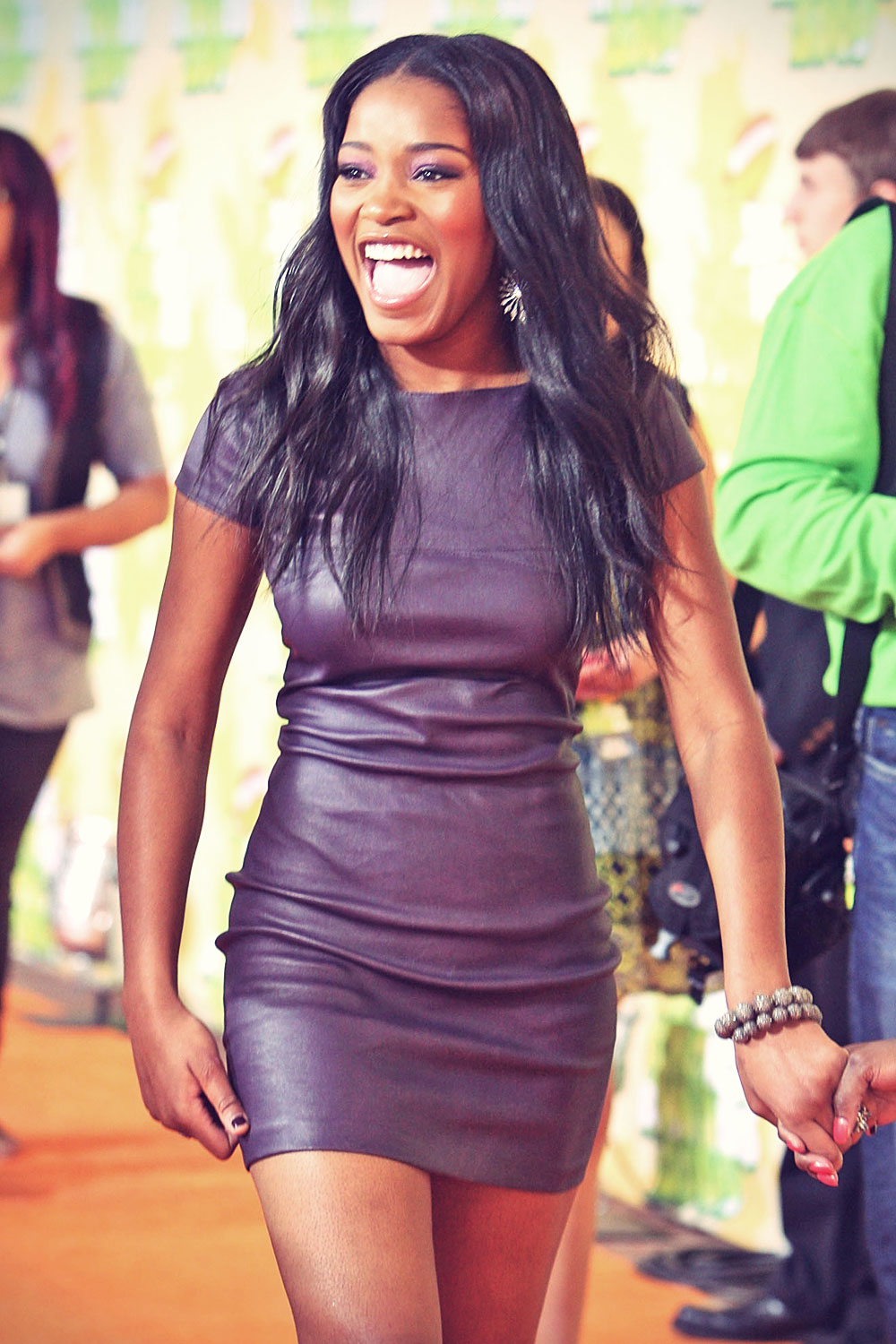 Keke Palmer attends Nickelodeon Kids Choice Awards