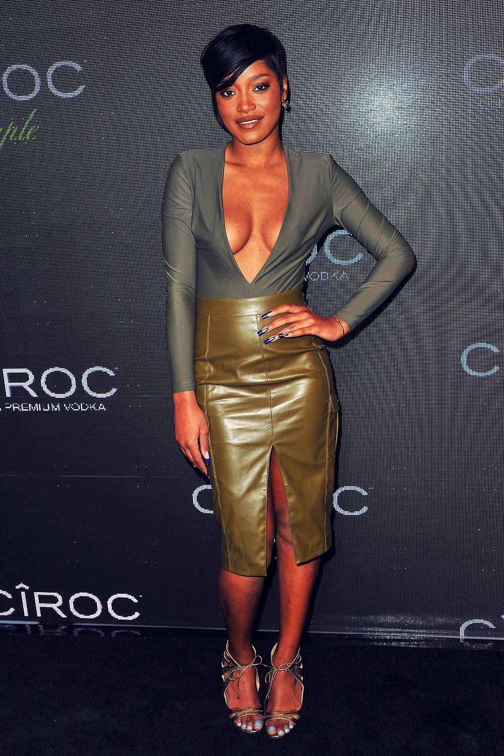 Keke Palmer attends Sean Diddy Combs birthday celebration
