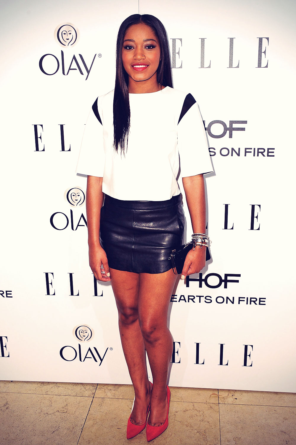 Keke Palmer attends the ELLE Women In Television