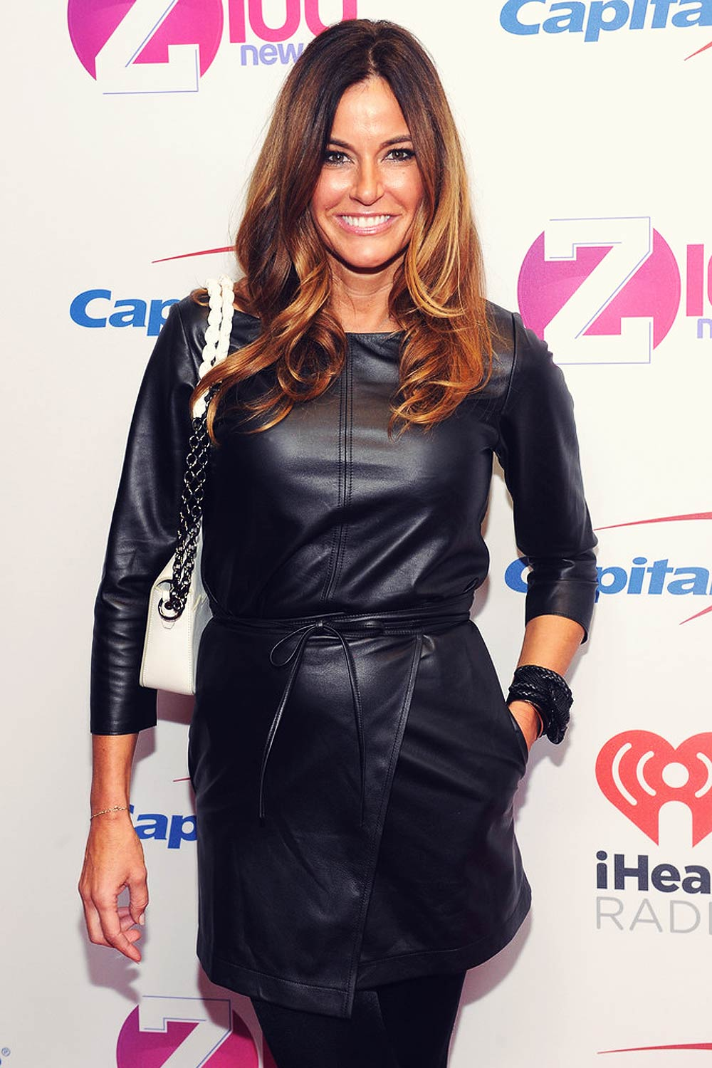 Kelly Bensimon and daughter Teddy Bensimon attend Z100's Jingle Ball 2015