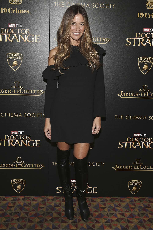Kelly Bensimon attends Doctor Strange Film Premiere