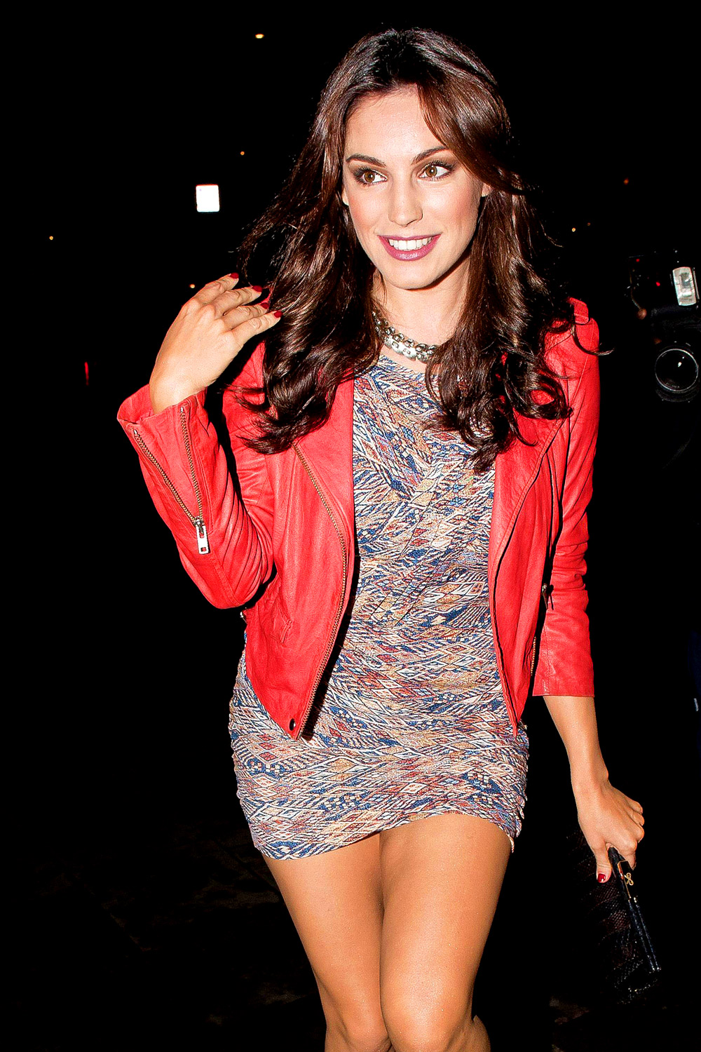 Kelly Brook attends Jonathan Shalit's birthday