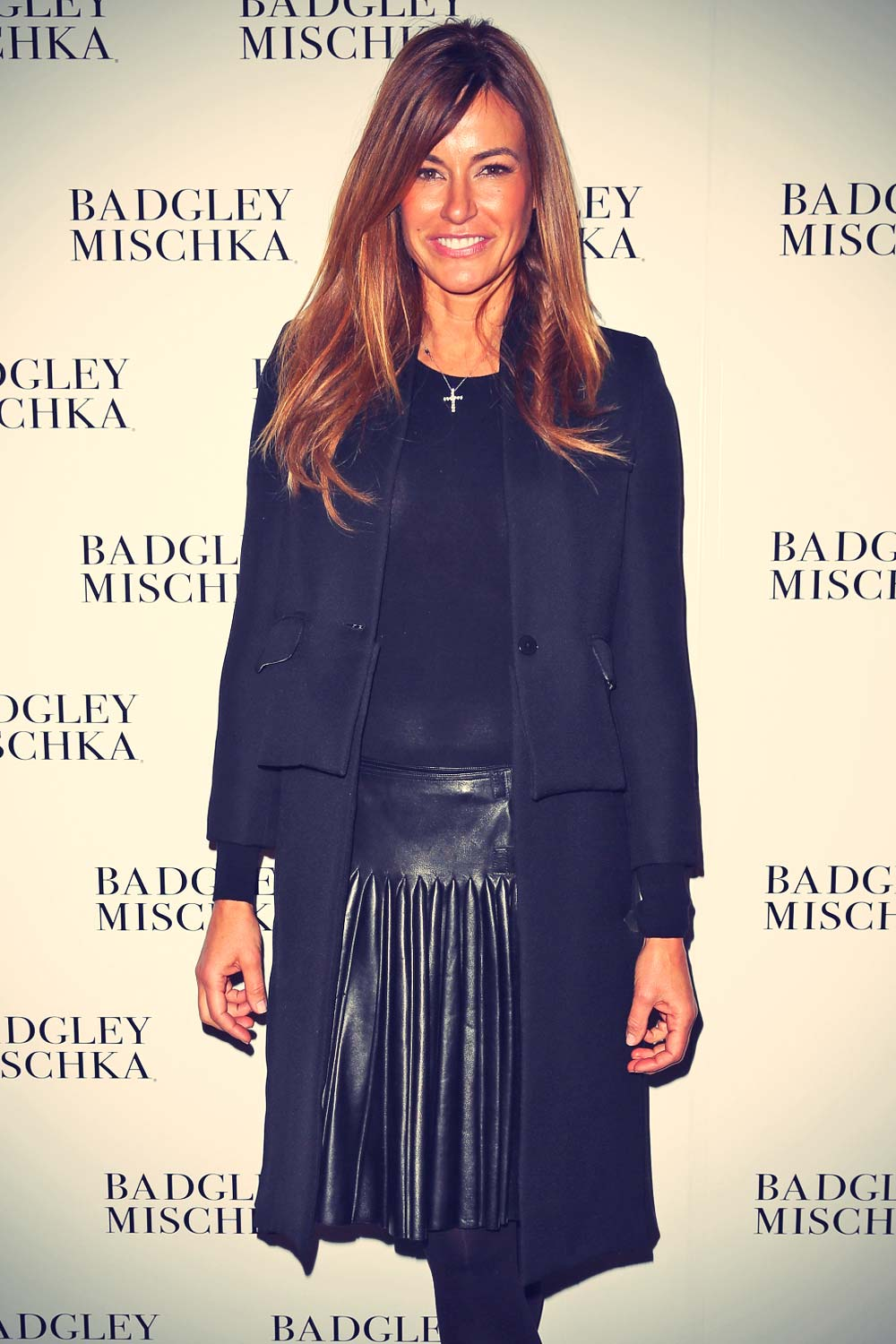 Kelly Killoren Bensimon attends Badgley Mischka show