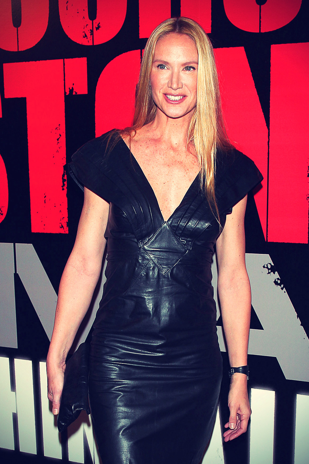 Kelly Lynch at Shine A Light premiere