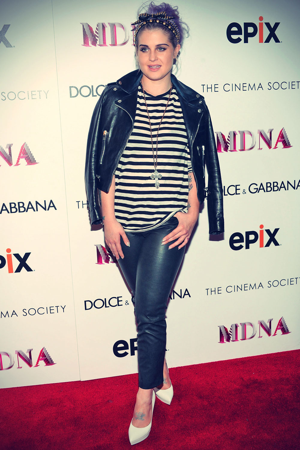 Kelly Osbourne Epix World Premiere of Madonna: The MDNA Tour