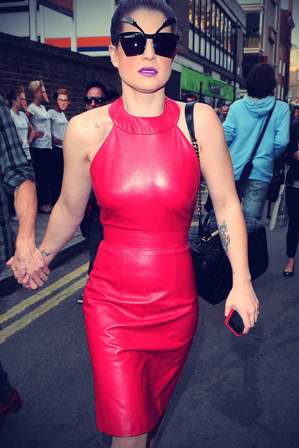 Kelly Osbourne arriving at Somerset House
