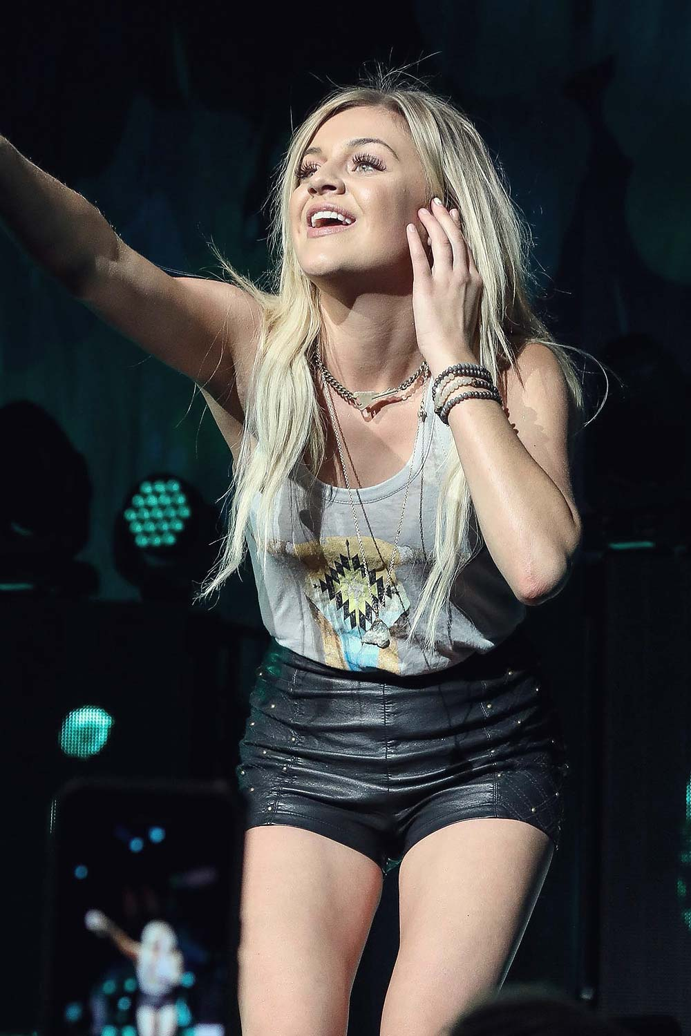 Kelsea Ballerini performs during the Rhythm and Roots Tour 2016