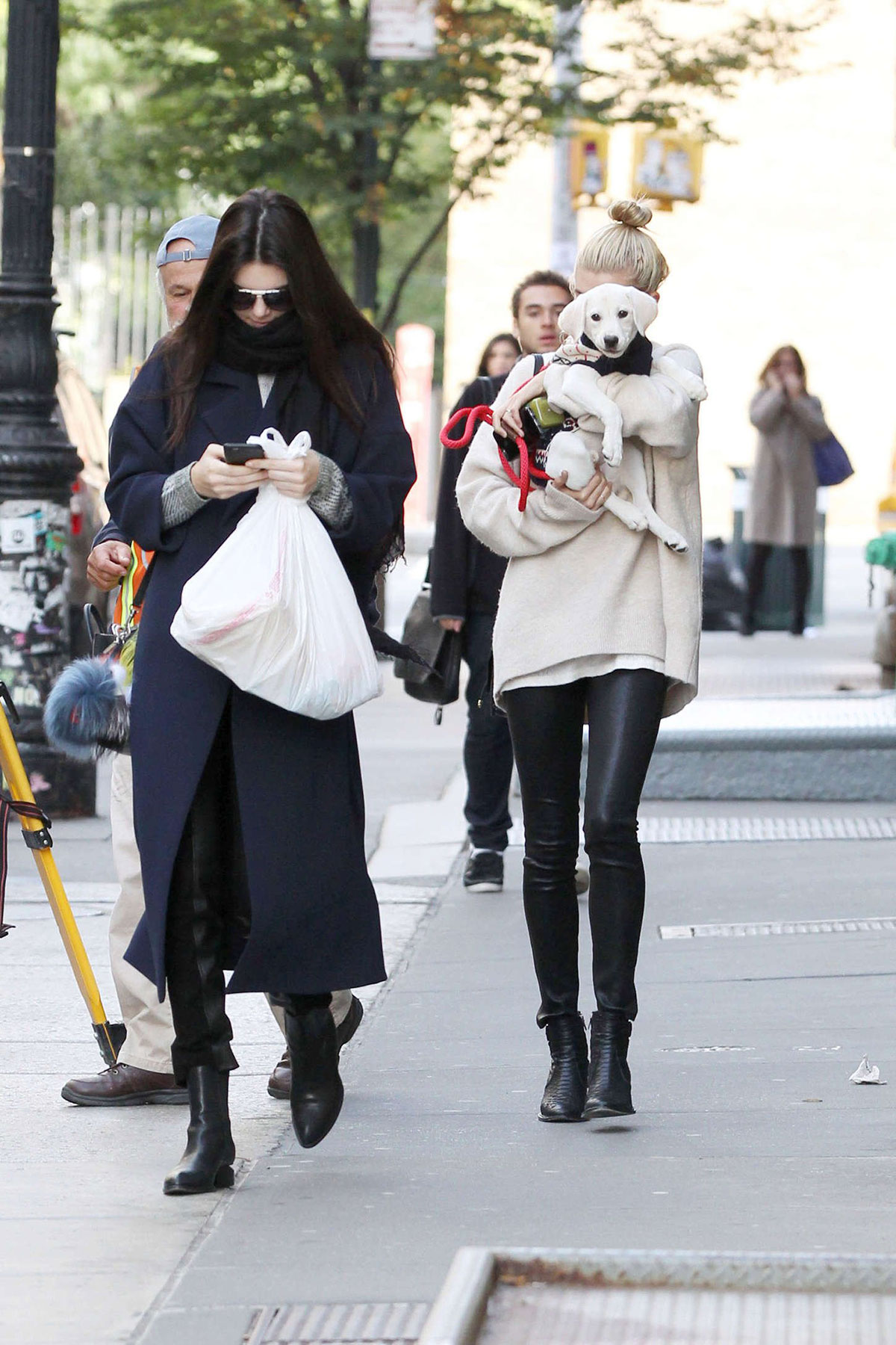 Kendall Jenner & Hailey Baldwin out and about in NYC