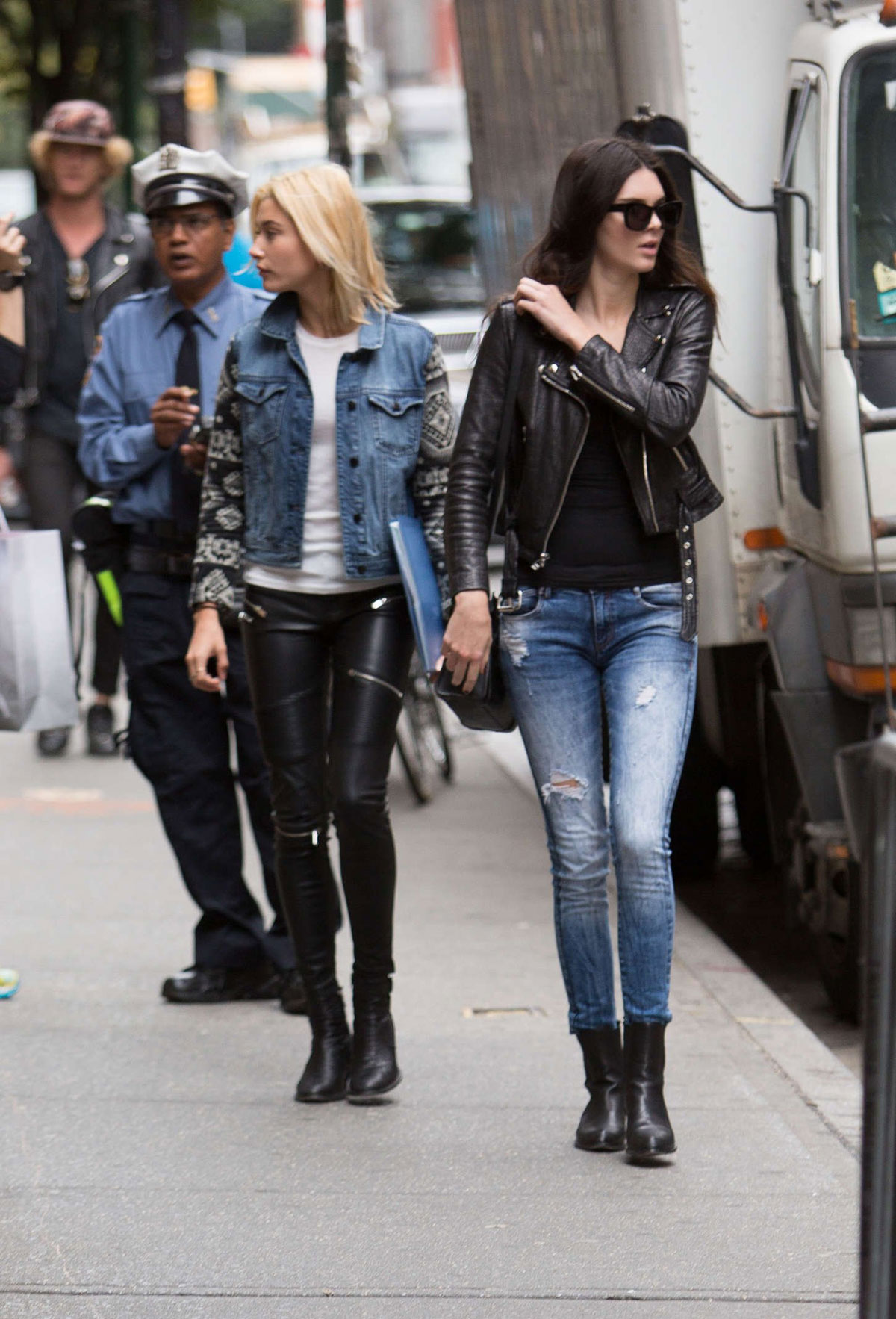 Kendall Jenner And Hailey Baldwin Spotted Out In Nyc