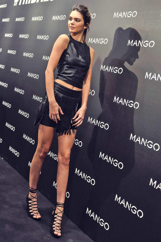 Kendall Jenner attends Mango Tribal Spirit party