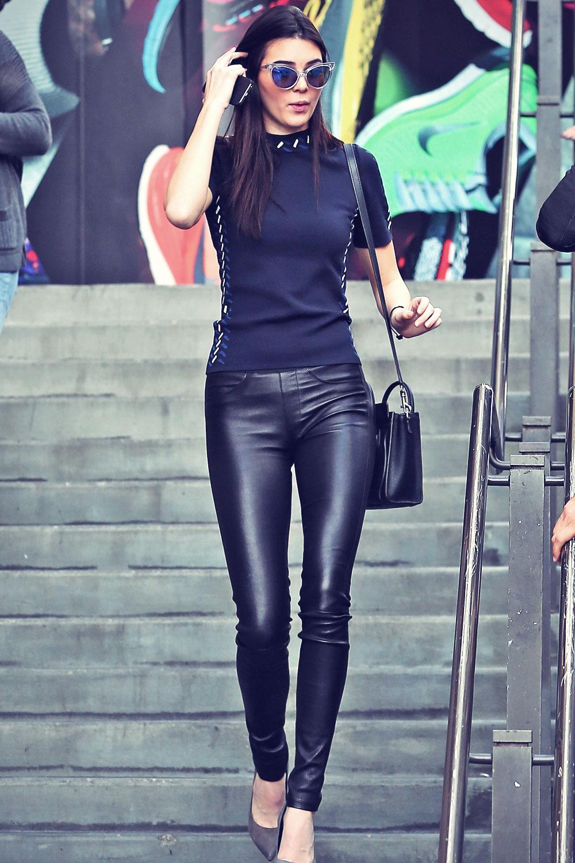 Kendall Jenner attends Rick Ross concert