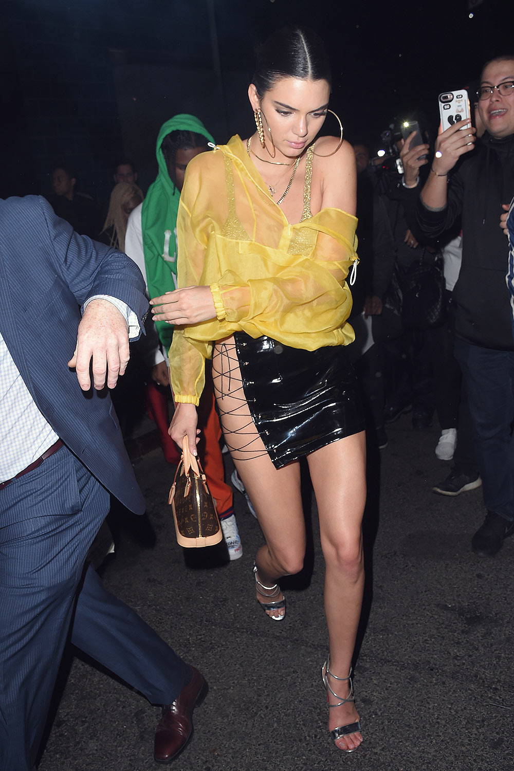 Kendall Jenner attends Travis Scott's Birthday Party