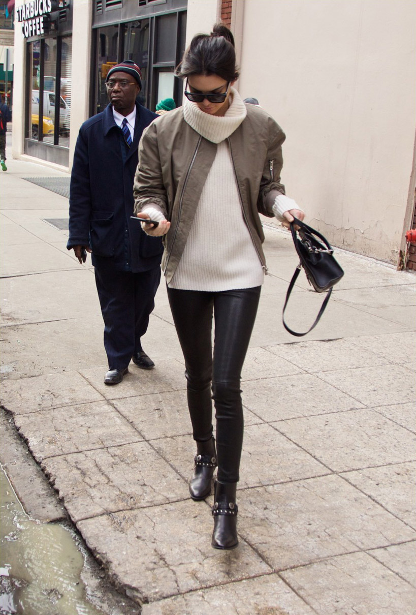 Kendall Jenner out and about in SoHo district