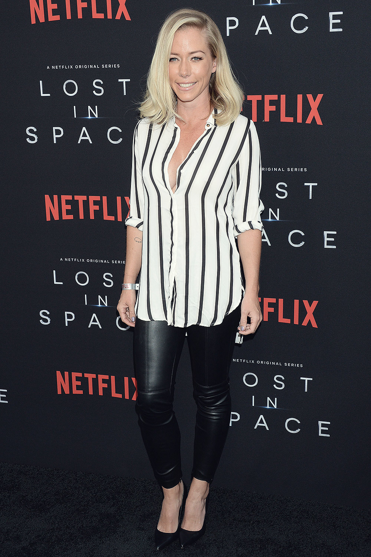 Kendra Wilkinson attends Lost in Space series premiere