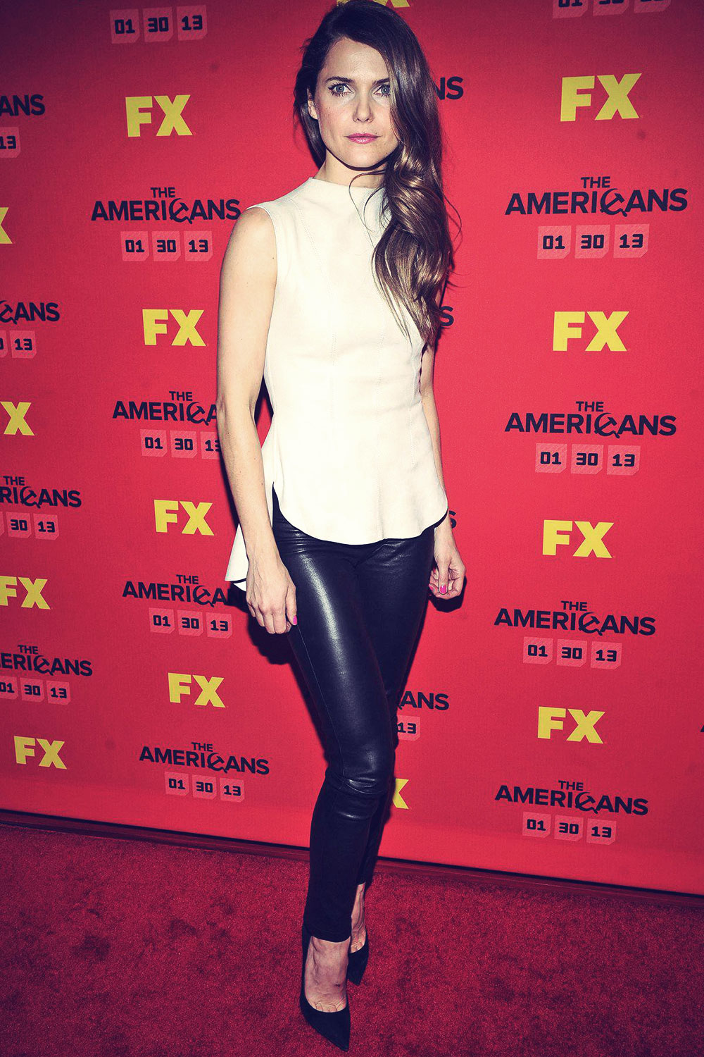 Keri Russell attends FX's The Americans Season One New York Premiere