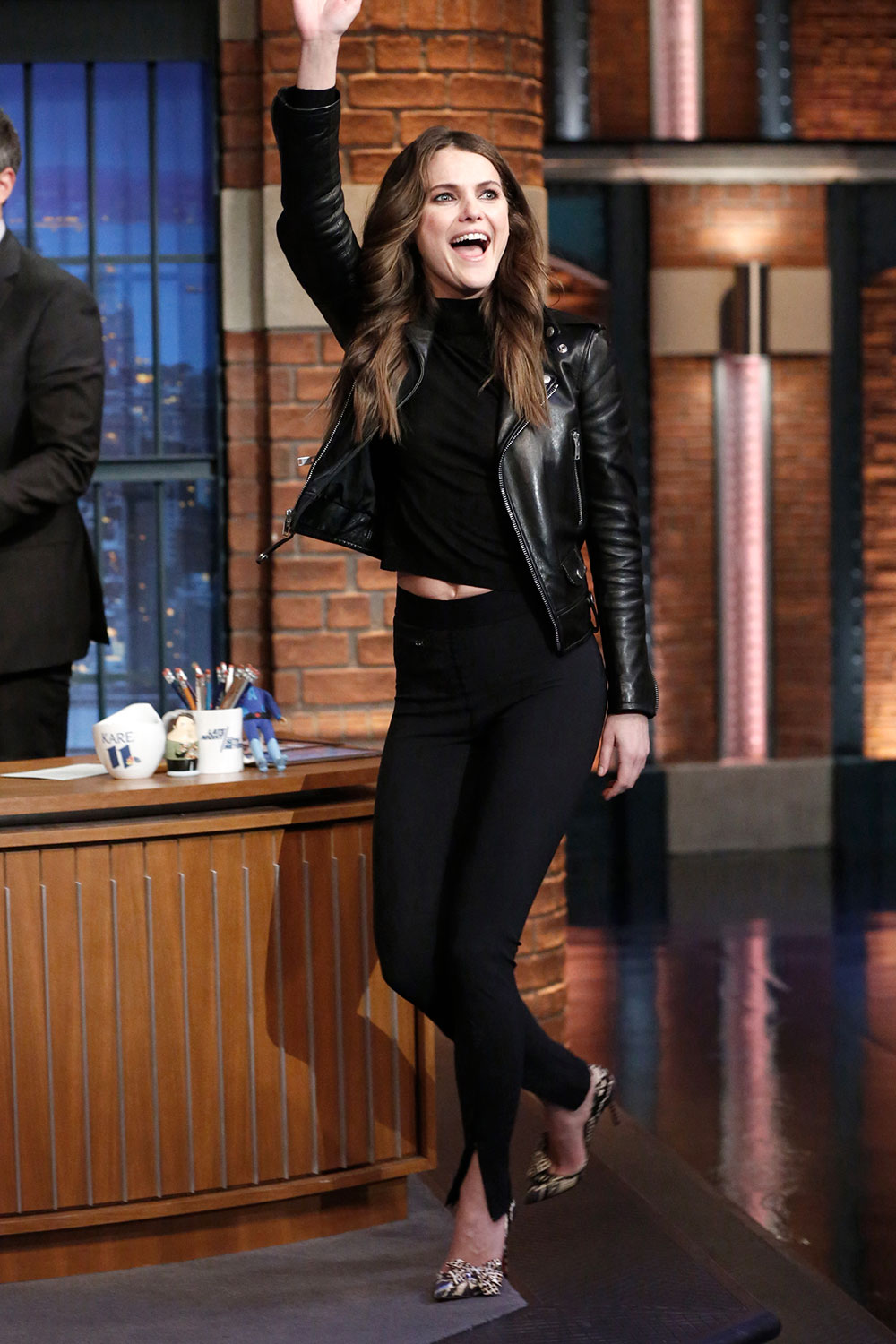 Keri Russell attends Late Night with Seth Meyers